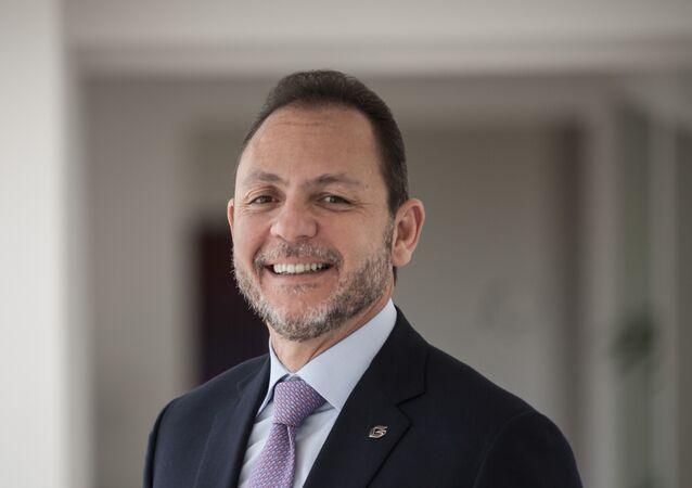 Raúl Gorrín, presidente del canal de televisión Globovisión