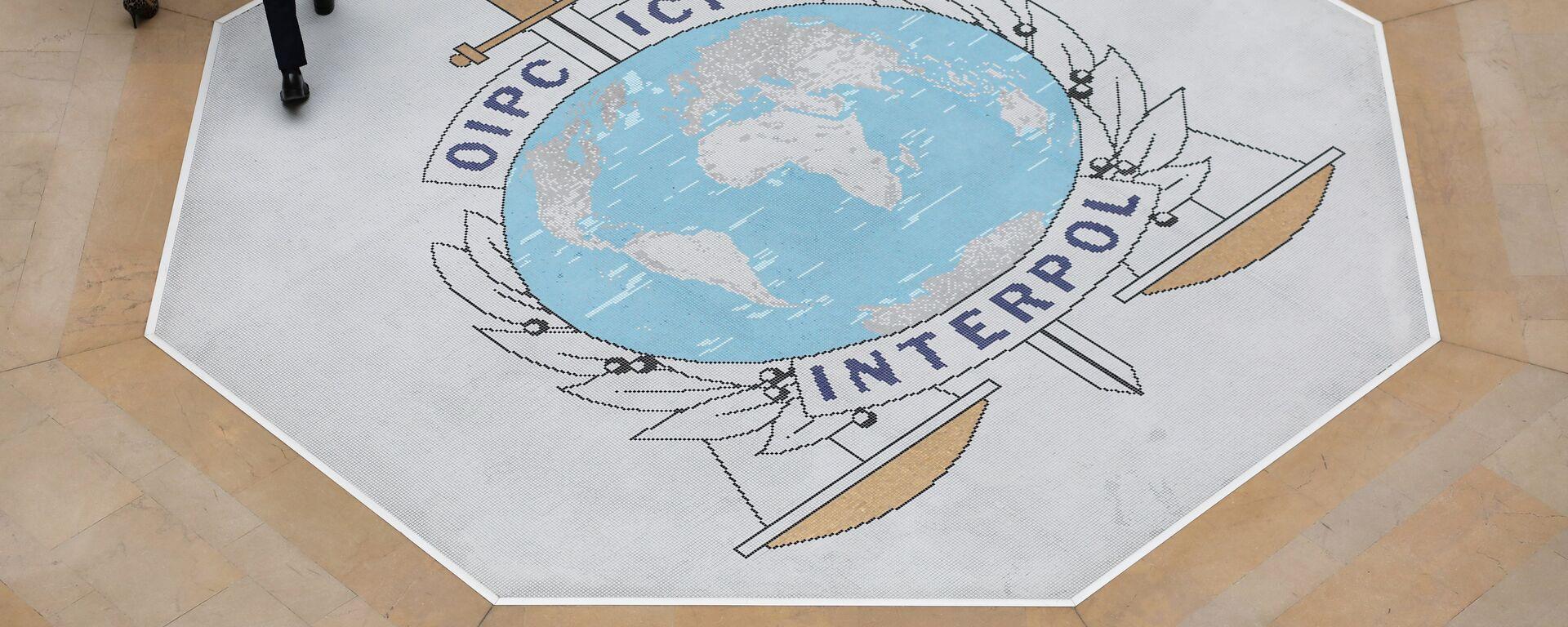 El logo de Interpol - Sputnik Mundo, 1920, 16.08.2021