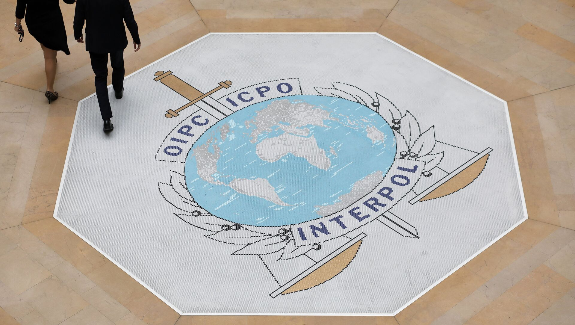 El logo de Interpol - Sputnik Mundo, 1920, 06.05.2020