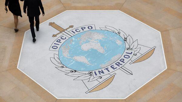 El logo de Interpol - Sputnik Mundo