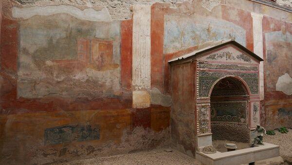 Las ruinas de la ciudad de Pompeya, Italia - Sputnik Mundo