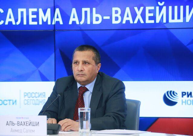 Ahmed Salem Wahishi, embajador de Yemen en Rusia (archivo)