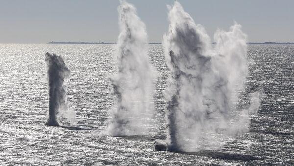 Las maniobras de Ucrania en el mar de Azov - Sputnik Mundo