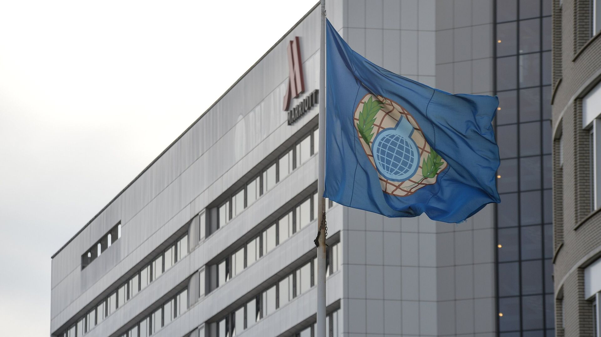 Bandera de la OPAQ - Sputnik Mundo, 1920, 20.04.2021