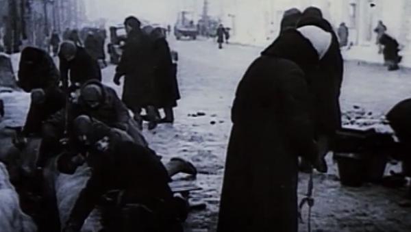 El Camino de la vida, la única esperanza para el Leningrado asediado - Sputnik Mundo