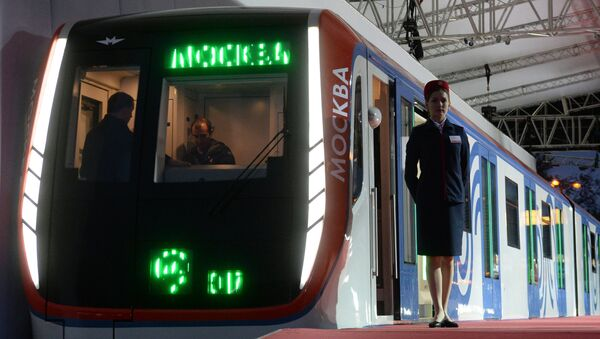 El tren Moskva (archivo) - Sputnik Mundo