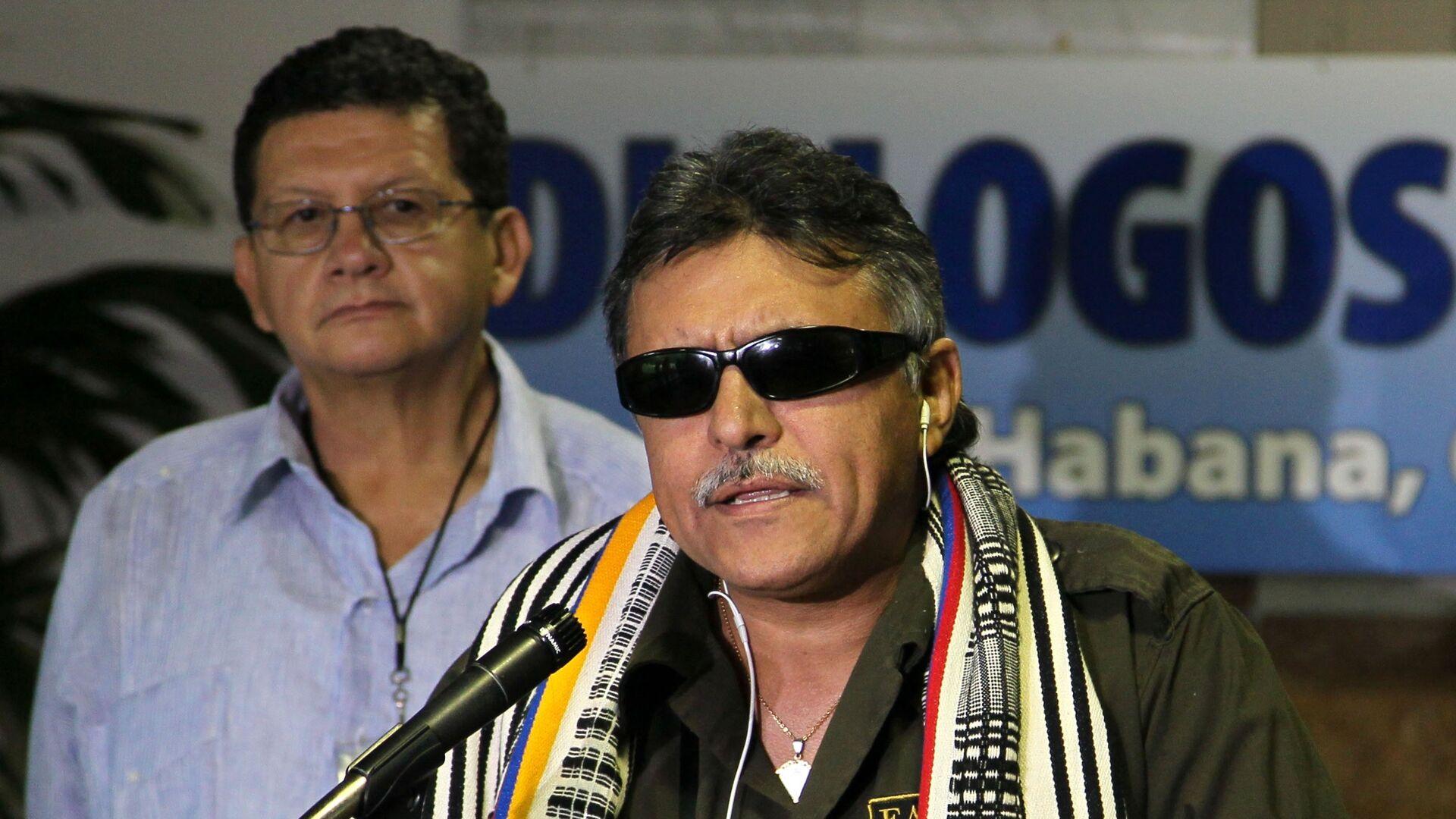 Jesús Santrich, exguerrillero colombiano, integrante del partido político FARC - Sputnik Mundo, 1920, 19.05.2021