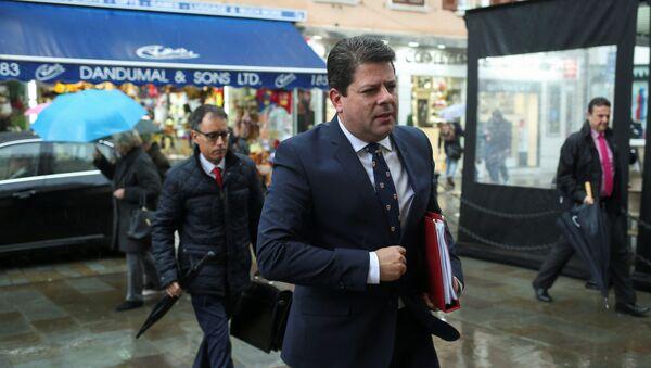 Fabian Picardo, ministro principal de Gibraltar - Sputnik Mundo