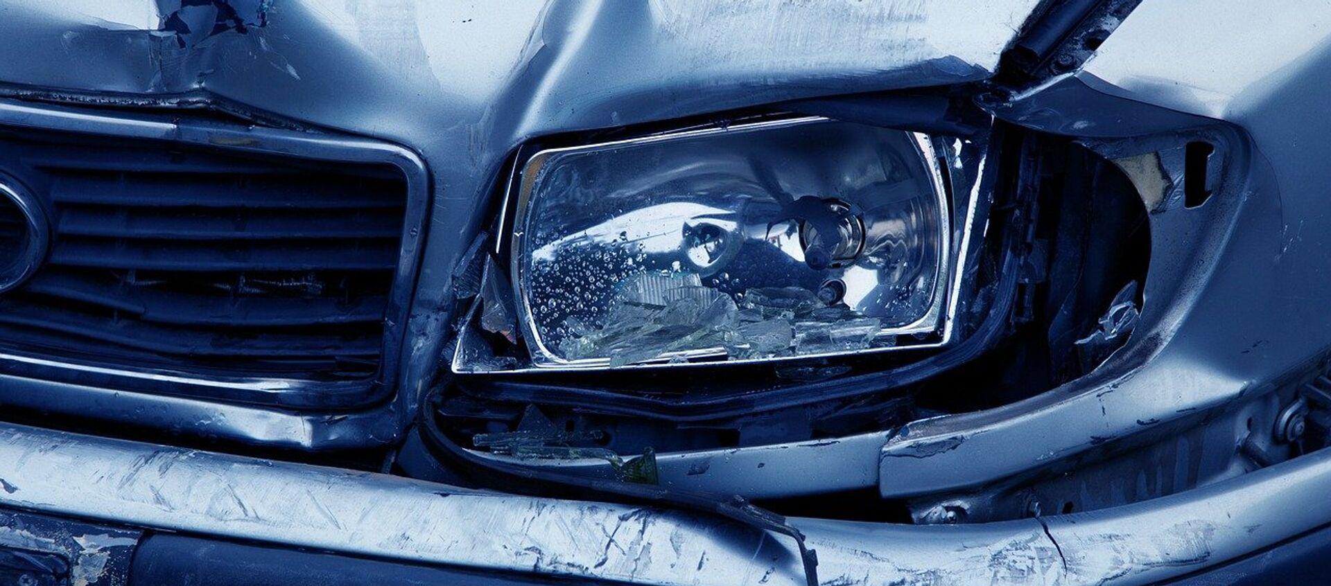 Un accidente de coche, referencial - Sputnik Mundo, 1920, 23.11.2018