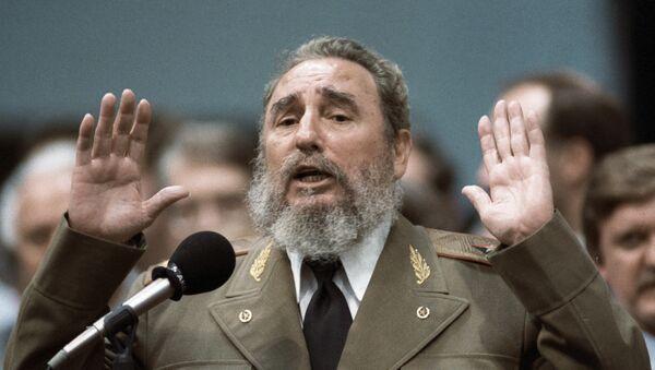 Fidel Castro, líder de la Revolución Cubana - Sputnik Mundo