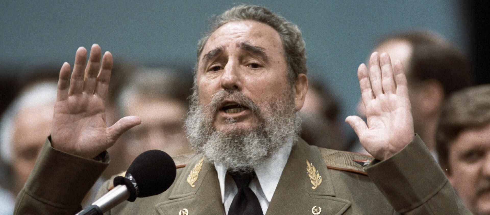 Fidel Castro, líder de la Revolución Cubana - Sputnik Mundo, 1920, 25.11.2020