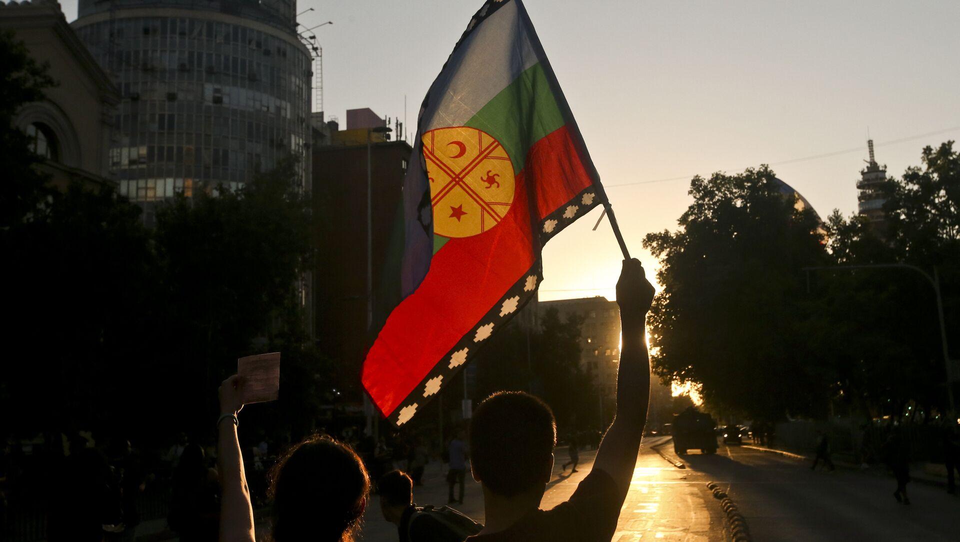 La bandera del pueblo mapuche - Sputnik Mundo, 1920, 08.01.2021