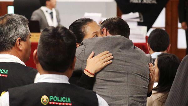 Keiko Fujimori y Mark Vito (Archivo) - Sputnik Mundo