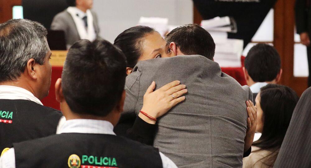 Keiko Fujimori y Mark Vito (Archivo)