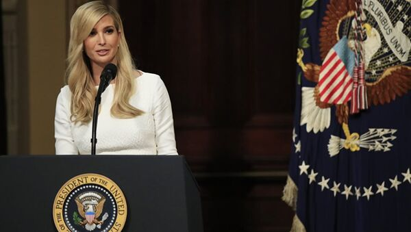 Ivanca Trump, hija y asesora del presidente Donald Trump - Sputnik Mundo