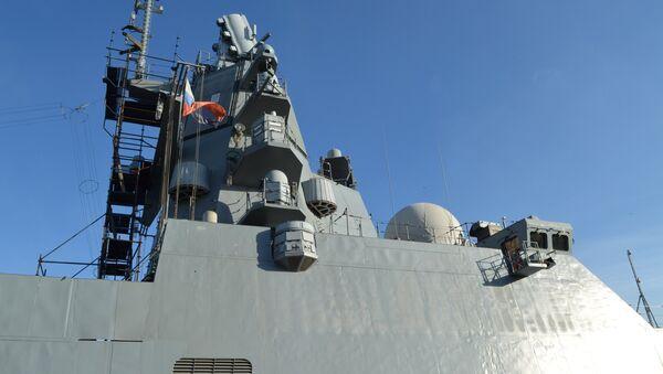 La fragata rusa Almirante Kasatonov - Sputnik Mundo
