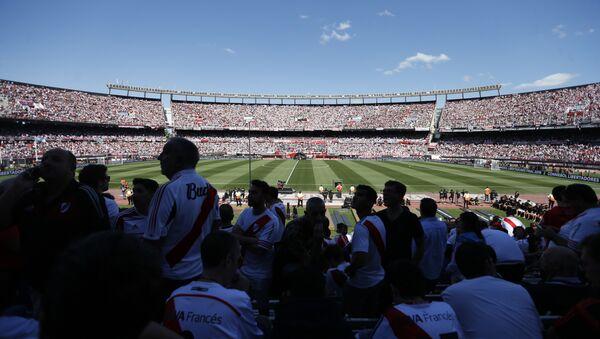 El estadio de Antonio Vespucio Liberti en Buenos Aires, Argentina - Sputnik Mundo