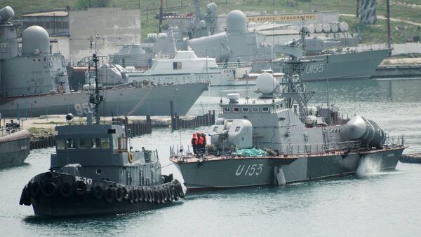 Buques de la Marina de Guerra de Ucrania - Sputnik Mundo