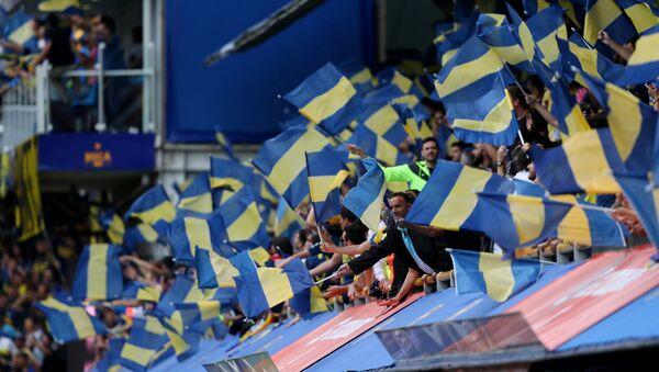 Los hinchas de Boca Juniors - Sputnik Mundo