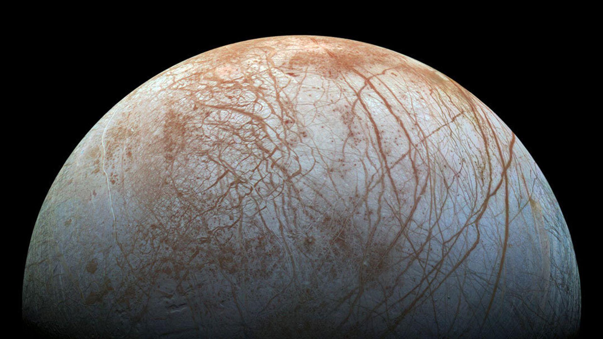 Europa, una de las lunas de Júpiter - Sputnik Mundo, 1920, 27.05.2021