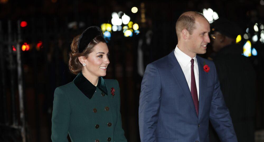 Kate Middleton, duquesa de Cambridge, y su marido, el príncipe Guillermo