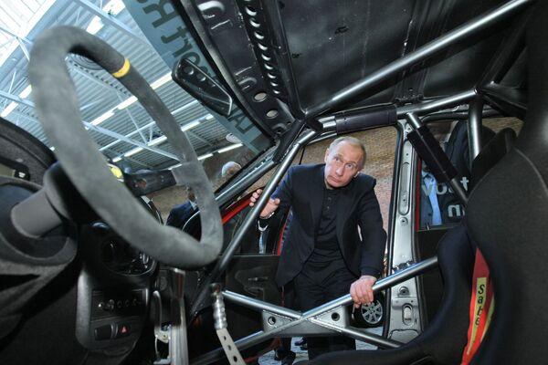 Putin sobre ruedas - Sputnik Mundo