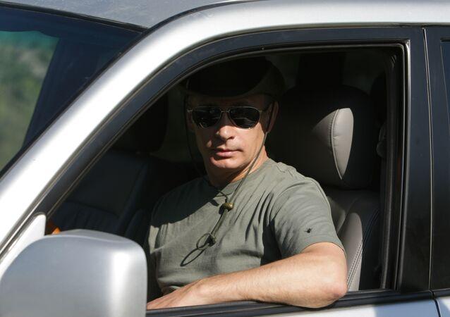 Putin sobre ruedas