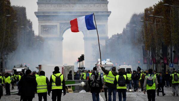 Protestas en París, Francia - Sputnik Mundo