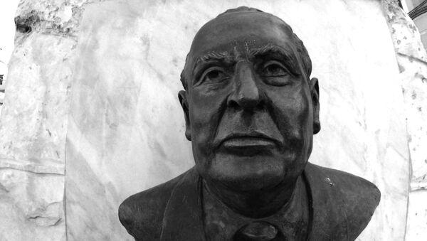 El busto de Gilberto Bosques, un diplomático mexicano - Sputnik Mundo