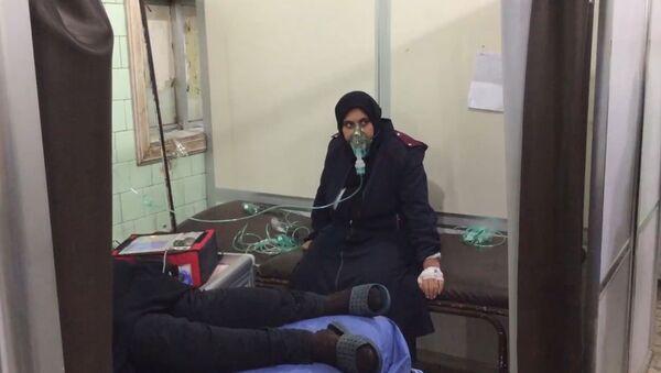 Secuelas del ataque químico perpetrado por los terroristas contra Alepo - Sputnik Mundo