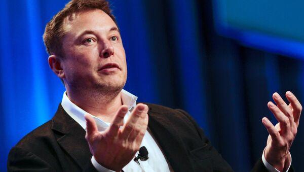 Elon Musk, jefe de SpaceX - Sputnik Mundo