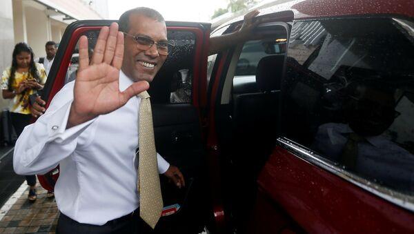 Mohamed Nasheed, expresidente de las Maldivas - Sputnik Mundo