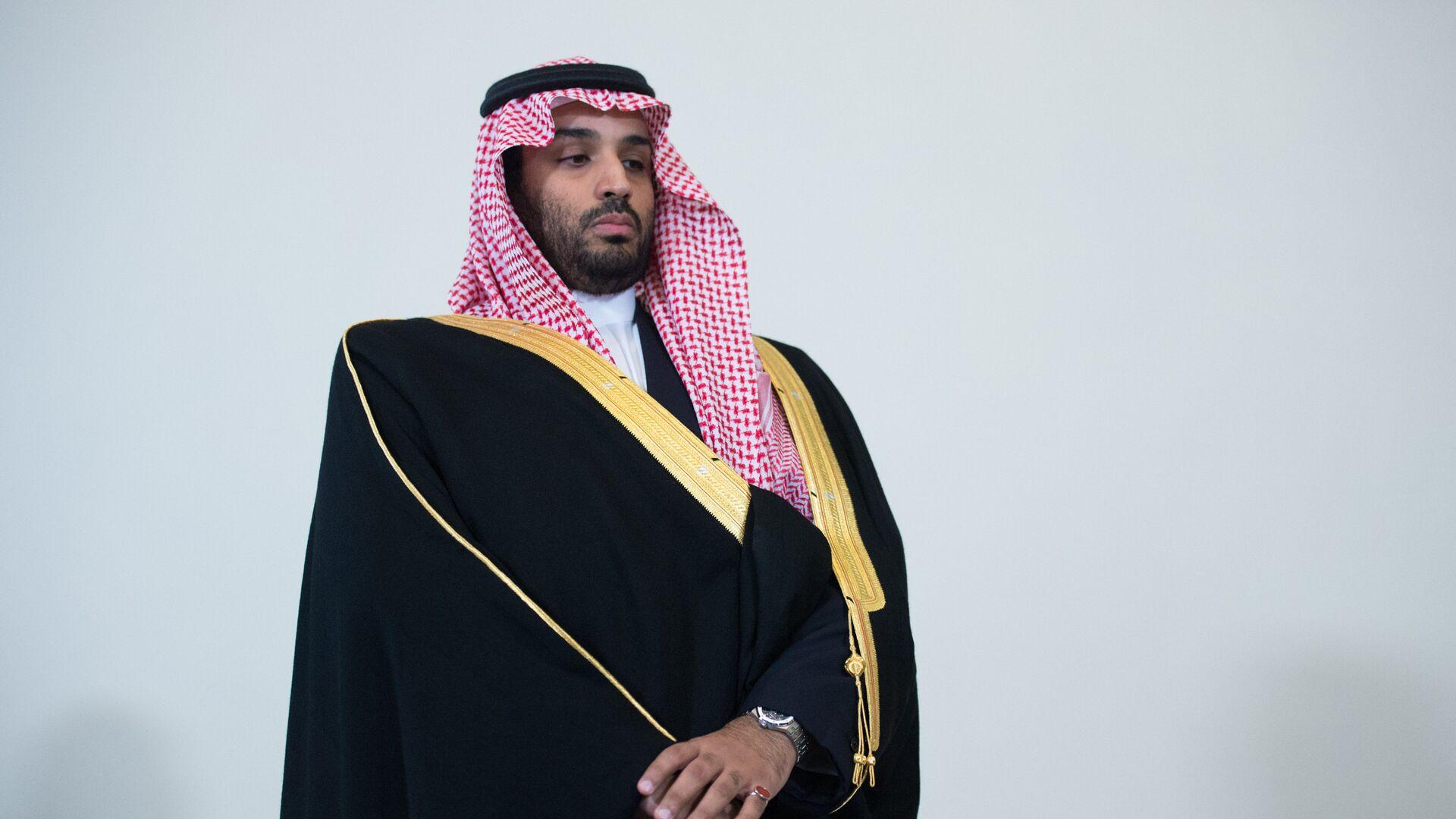 Príncipe heredero de Arabia Saudí, Mohamed bin Salmán. - Sputnik Mundo, 1920, 01.03.2021
