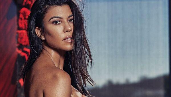 Kourtney Kardashian, celebridad estadounidense - Sputnik Mundo