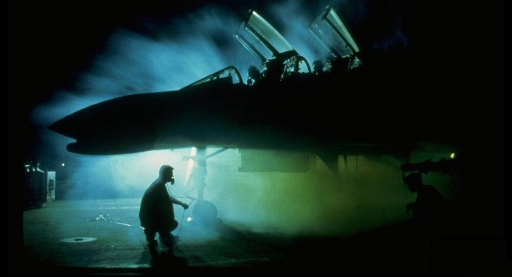 Un caza F-4 Phantom, foto archivo