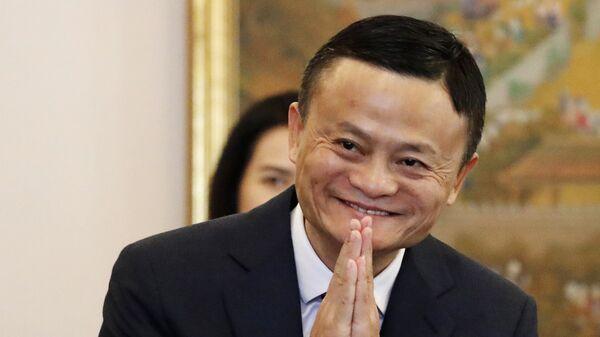 Jack Ma, el fundador de Alibaba - Sputnik Mundo