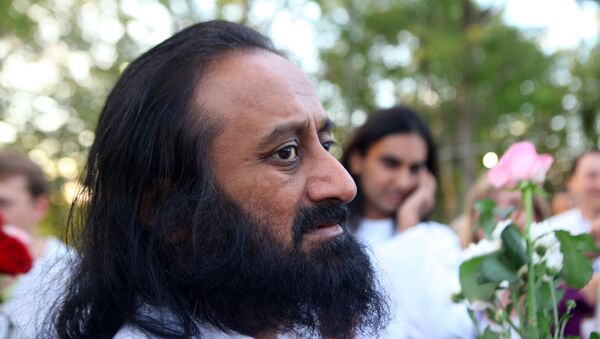 El fundador de El Arte de Vivir, Sri Sri Ravi Shankar - Sputnik Mundo
