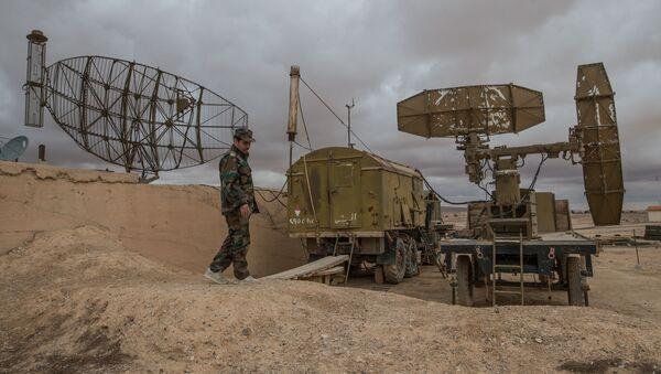 Defensa antiaérea de Siria (Archivo) - Sputnik Mundo