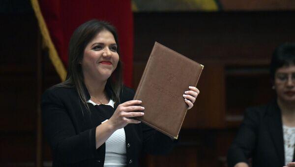María Alejandra Vicuña, vicepresidenta de Ecuador - Sputnik Mundo