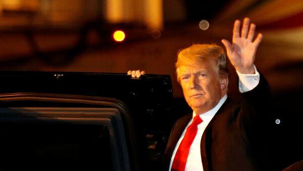 Donald Trump, presidente de EEUU, en Buenos Aires - Sputnik Mundo