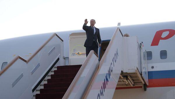 Vladímir Putin arriba a Buenos Aires para participar en la cumbre del G20 - Sputnik Mundo