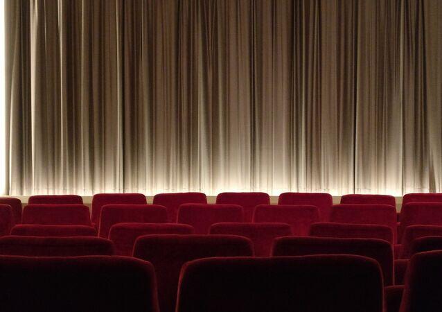 Una sala de teatro