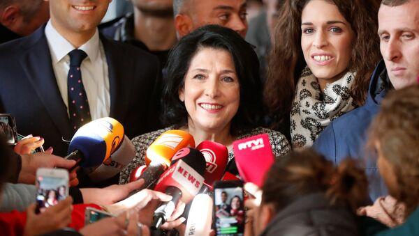 Salomé Zurabishvili, presidenta electa de Georgia - Sputnik Mundo