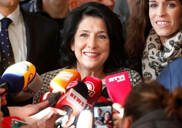 Salomé Zurabishvili, presidenta electa de Georgia