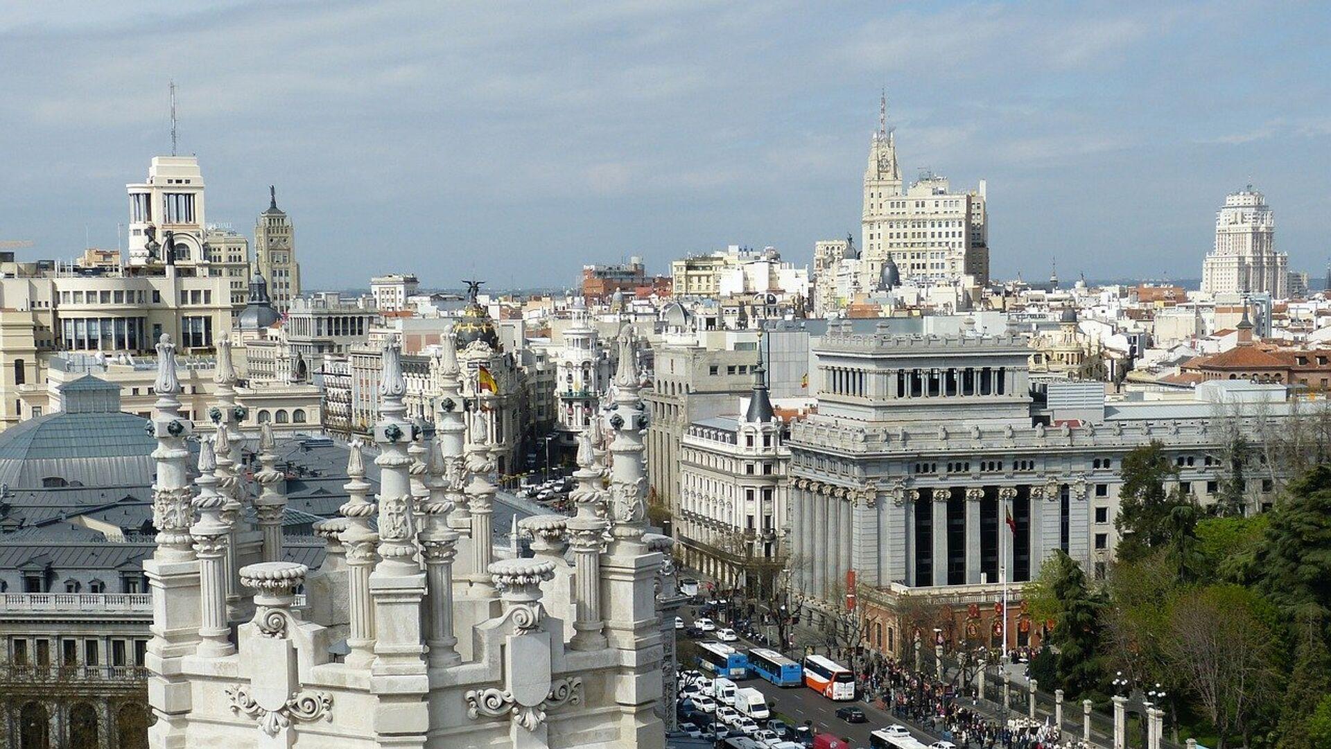 El centro de Madrid, referencial - Sputnik Mundo, 1920, 29.04.2021
