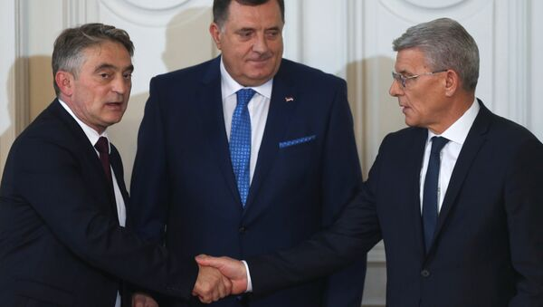 Los representantes de la Presidencia de Bosnia y Herzegovina - Sputnik Mundo