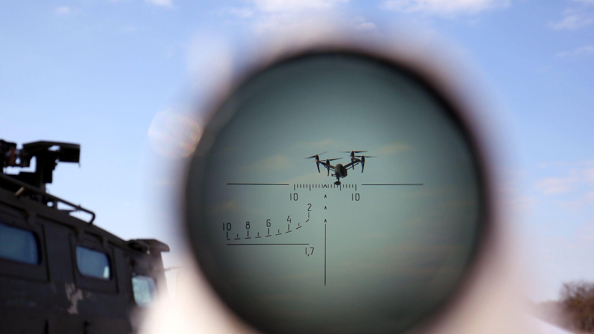 Un dron - Sputnik Mundo, 1920, 01.04.2021