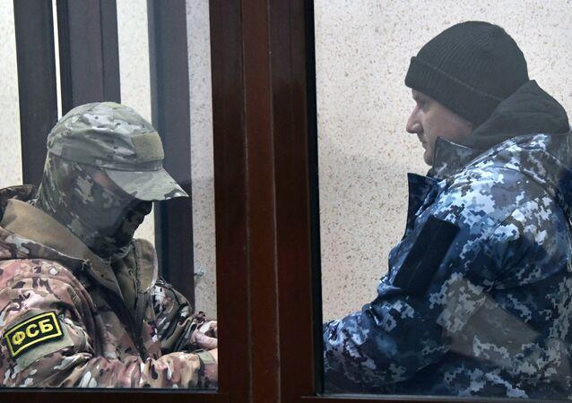 Uno de los marineros ucranianos arrestados