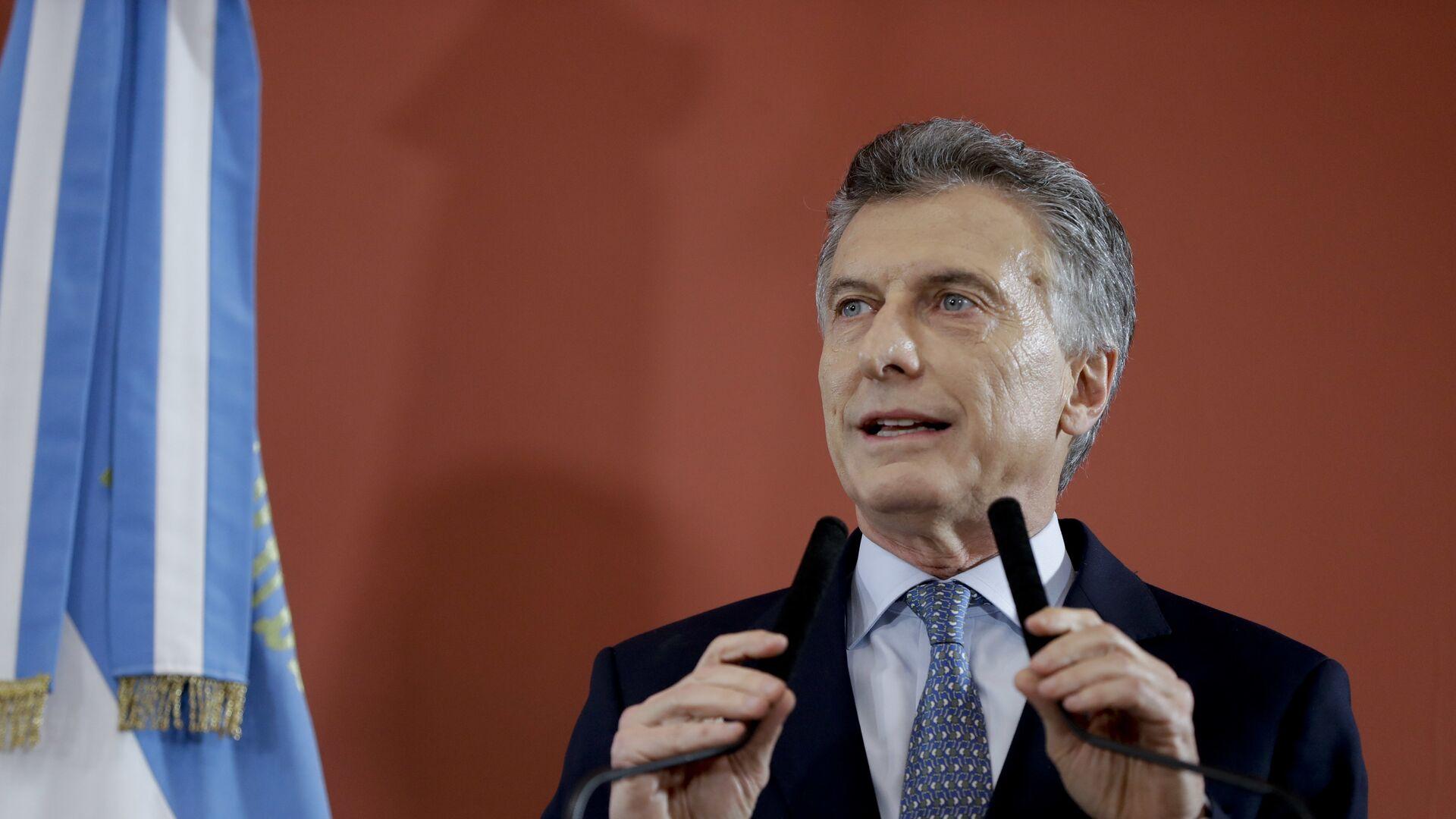 Mauricio Macri, expresidente de Argentina - Sputnik Mundo, 1920, 12.07.2021