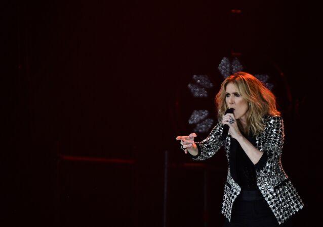 Celine Dion, una cantante canadiense